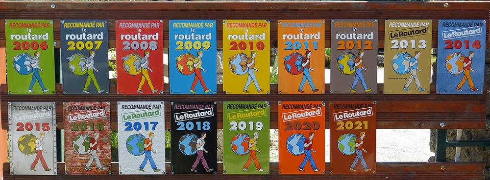 Inscrit au Guide du Routard depuis 2006 !